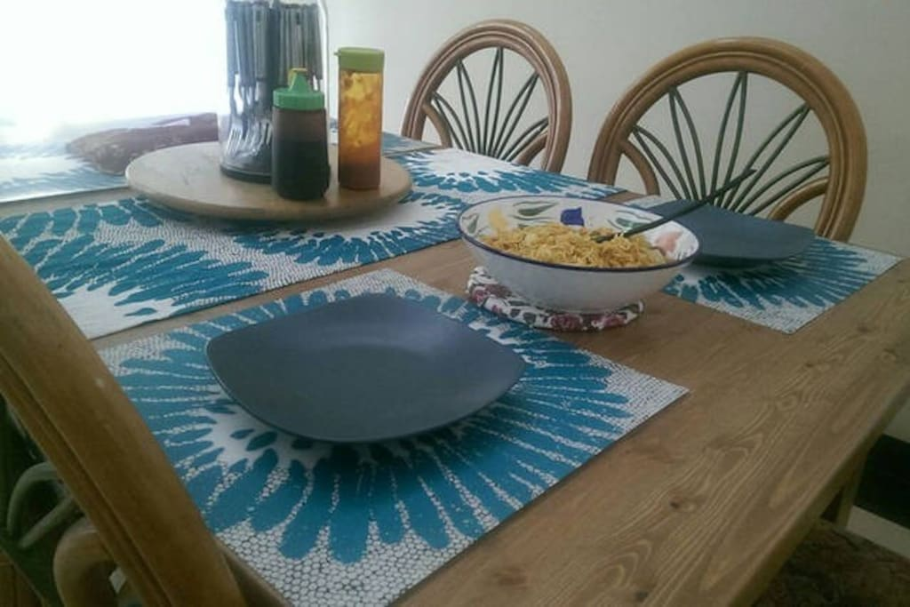 dinning table/area