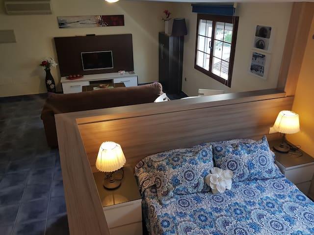 habitacion estilo loft