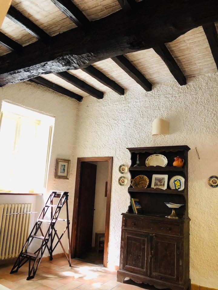 Casa accogliente in borgo medievale vicino Viterbo