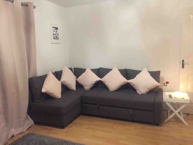 Clean, cosy flat, near city centre - Wifi/parking
