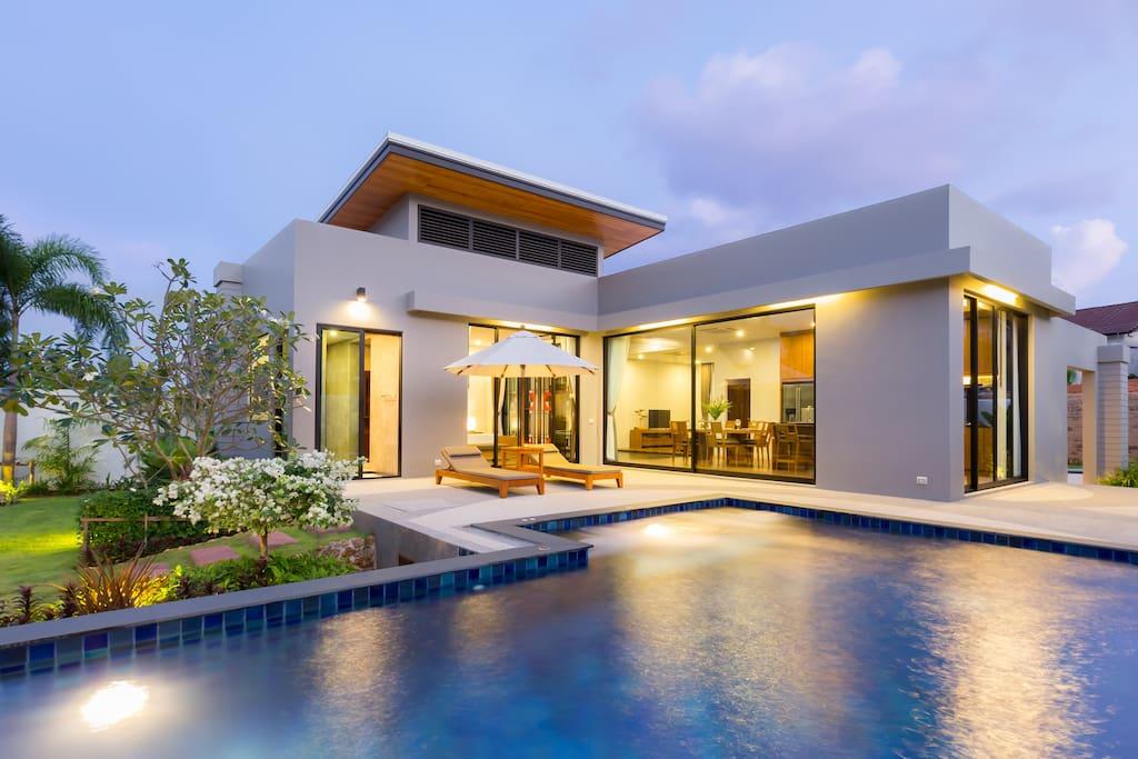 三室豪华别墅 3 bedroom villa