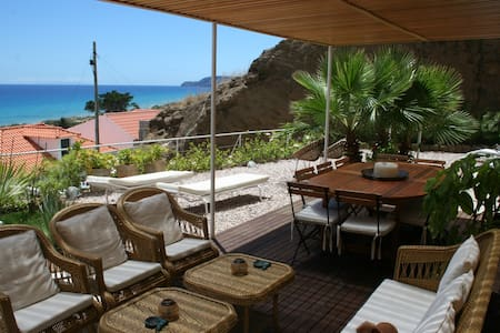 Lovely Sunny House with ocean view - Vila Baleira - Talo