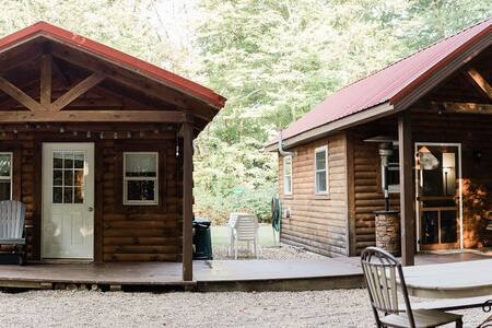 ❤️ FIRE PIT ★ PRIVATE CABINS Retreat in the Woods!
