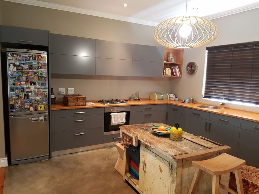 Fully equipped kitchen with Gas and electric stove
