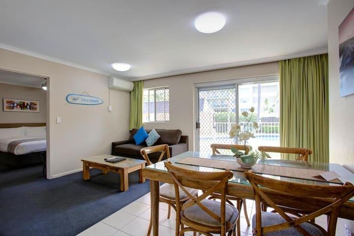Beachpark Apartments Coffs Harbour 2 Bedroom Apartment