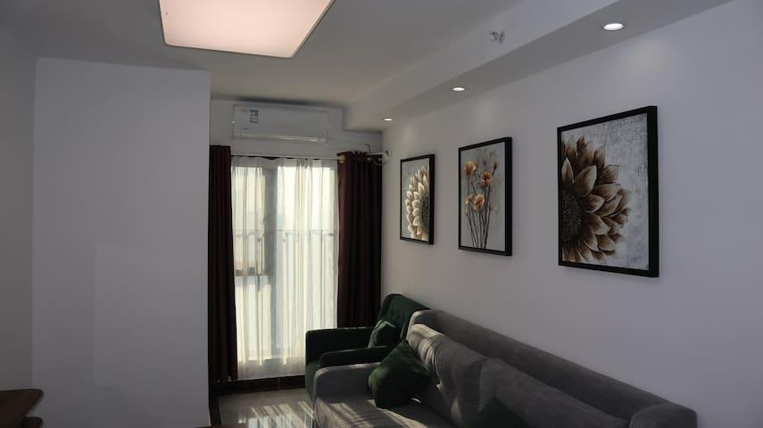 皇爵盈富国际三居loft公寓