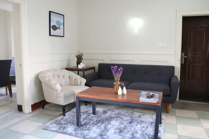 由客·眺望(西栅景区隔河相望的两居室套房) - Jiaxing - Appartement