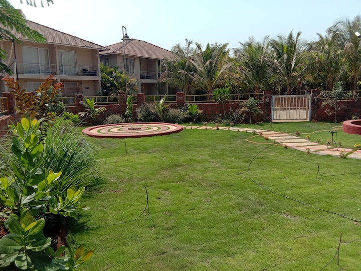 Luxurious AC apartment in Tamhini & Kolad rafting