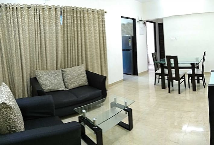 Luxurious One Bedroom Apartment in Ghansoli,Mumbai - Navi Mumbai