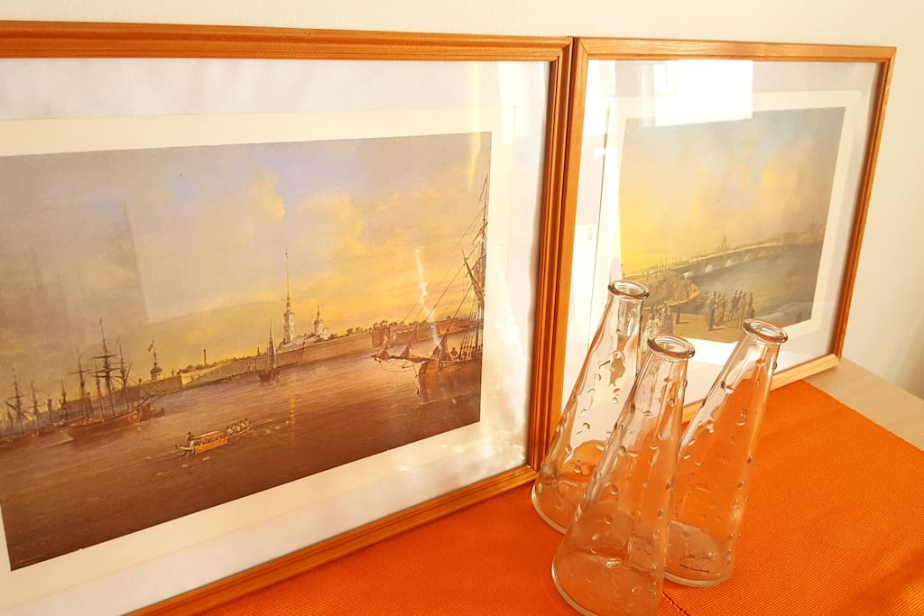 Картины с видами Санкт-Петербурга / Paintings with Saint-Pataersburg view