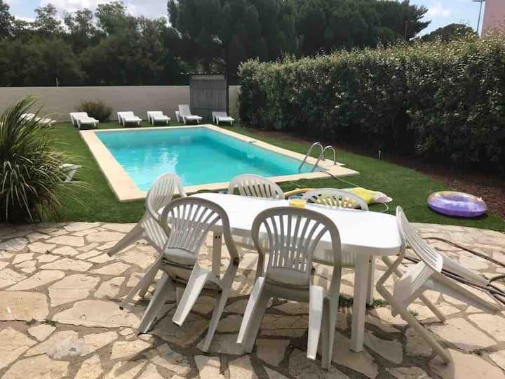 Villa 160 m2 avec grande piscine