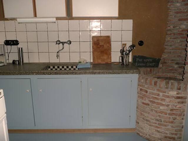 Ruim appartement in monumentale Betuwse boerderij - Kesteren - Byt