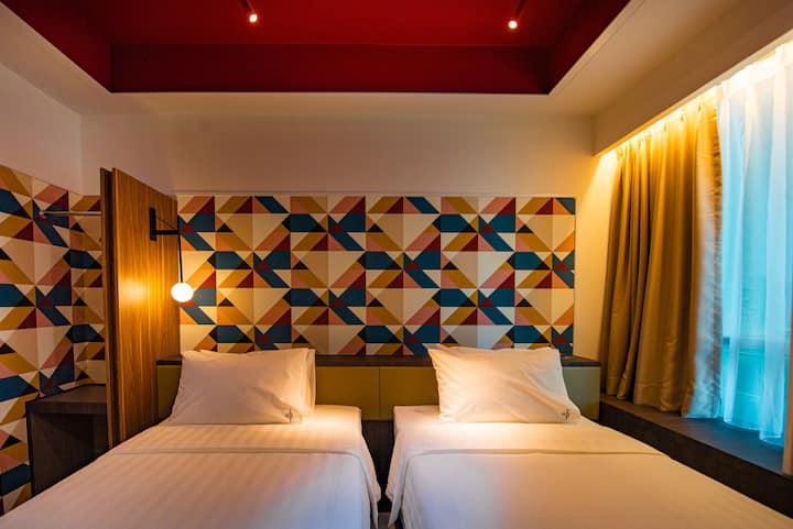 Airdence - Twin Suite Room #08 @ Sutera Avenue