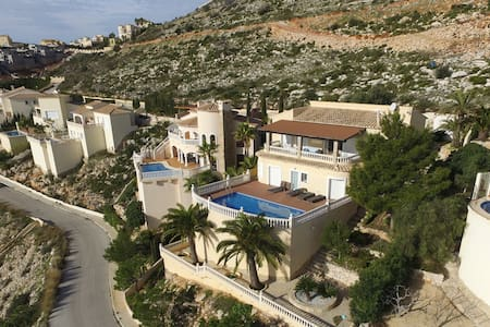 Luxury mountain villa with spectacular sea view - Benitachell
