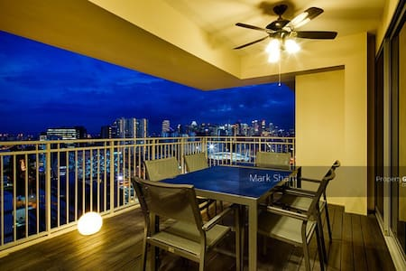 2mins MRT/City/25th flor/Great View/Quiet - Singapore