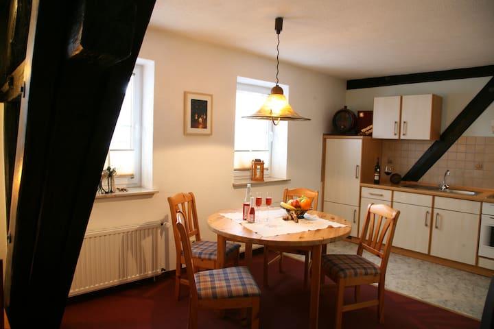 Unterkunft auf dem Weingut - Coswig - Apartamento
