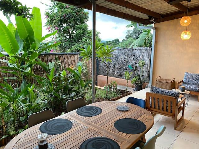 Jolie chambre avec jardin privatif
