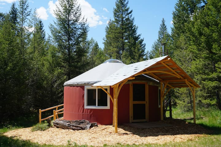 Hike In Yurts @ Radius - THE DREY