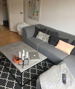 65 kvm two room apartment close to metro and city - København