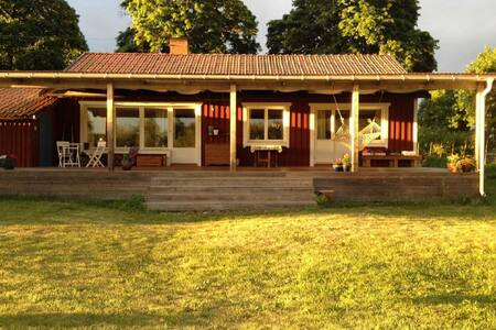Eva's beautiful country house in Stjärnsund