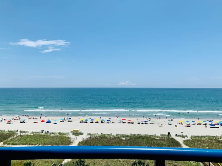 Direct Oceanfront/Private Balcony/Central Location