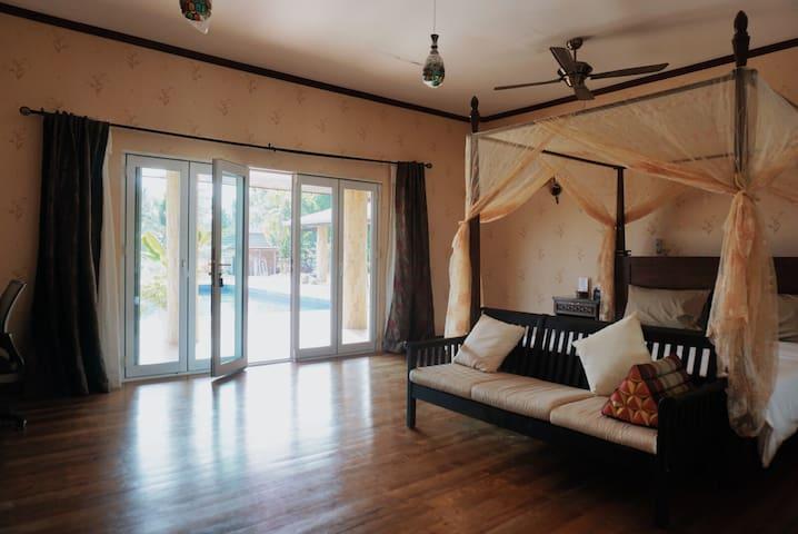 Palm View Pool Villa - Ensuite Rooms to Book - Trat - Villa