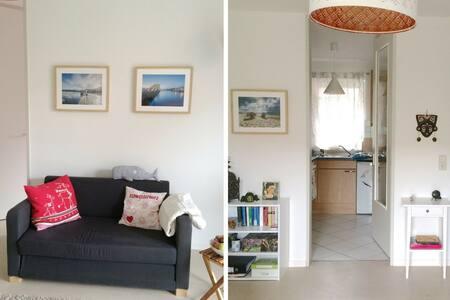 Hübsches Zimmer direkt am Wasser - ฮัมบูร์ก - อพาร์ทเมนท์