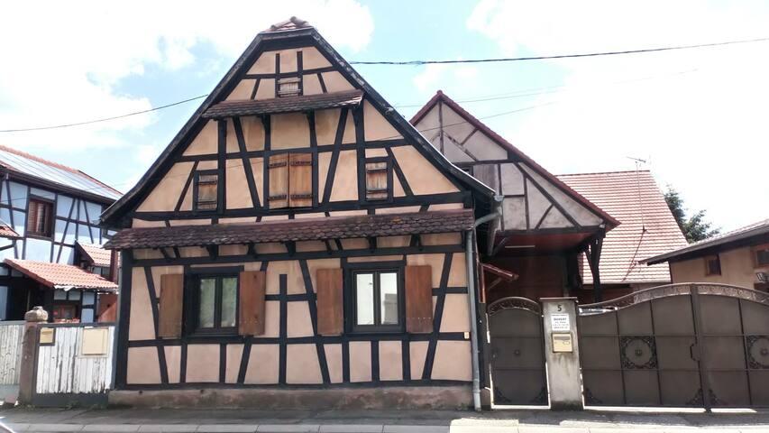 Triplex 6 pers Centre Alsace