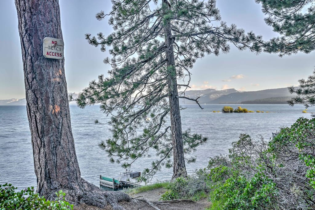 Privately located yet close to trails, restaurants and more, this home is ideal for large families looking to take in all that Tahoe has to offer.