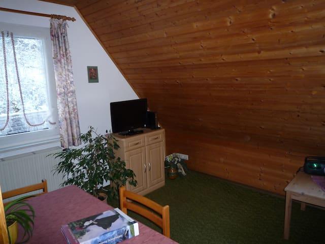 Ferienhaus am Bach, (Triberg), Ferienwohnung 2, 35qm, 1 Schlafzimmer, max. 2 Personen