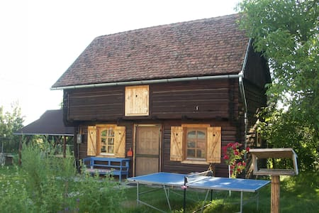 Converted barn in Transylvania
