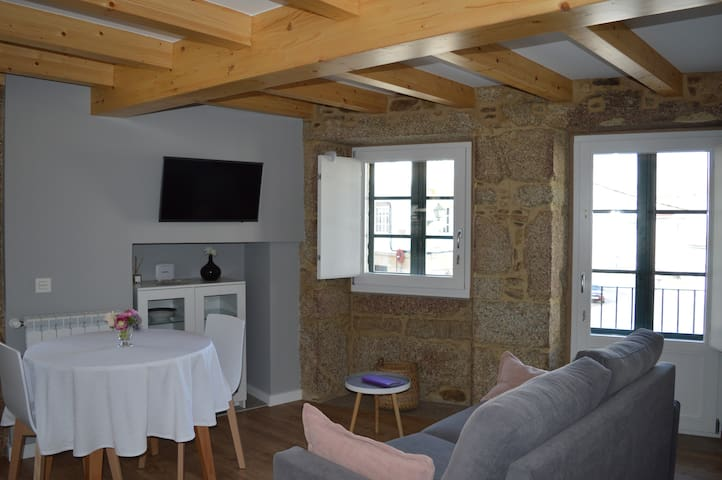 Casa con encanto en el casco histórico - Santiago de Compostela - Dům