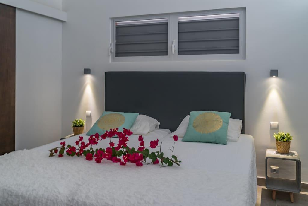 Ruime moderne slaapkamer