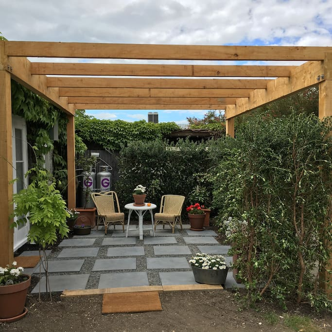 Your own private courtyard