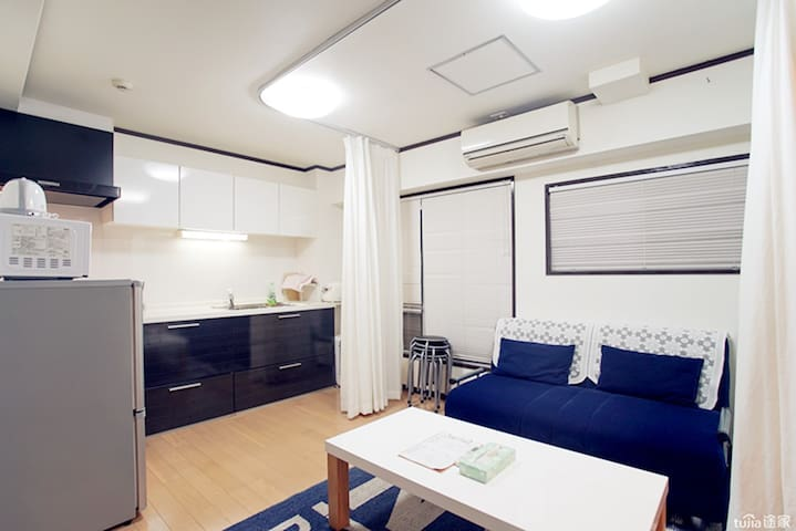 大客厅加厨房1 Large living room plus kitchen 1