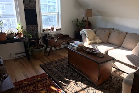 Beautiful Sunny Apt. Close to Waterfront