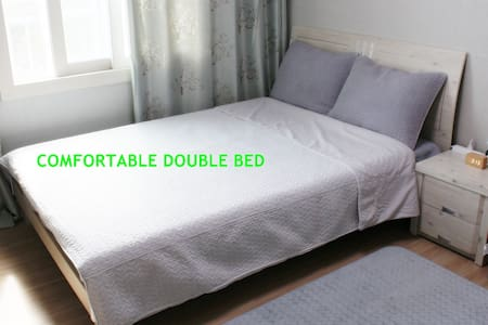 CLEAN & COZY DOUBLE BED ROOM, 중문관광단지 1.3km - Jungmunsang-ro, Seogwipo-si