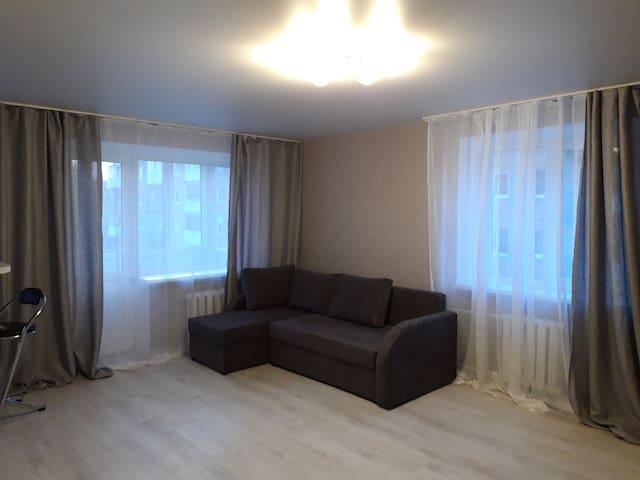 Новенькая квартира-студия в центре Калининграда.