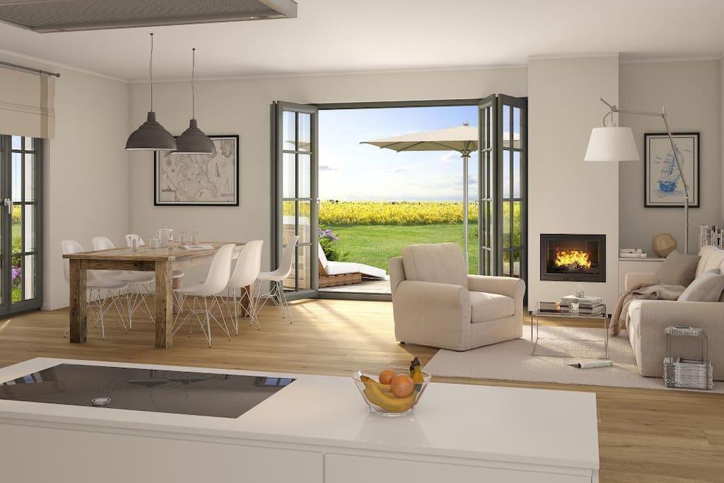Wohnbereich (Luxus + Premiumvilla)