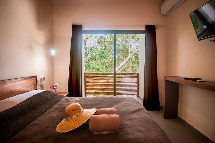 Double room with balcony in Tulum