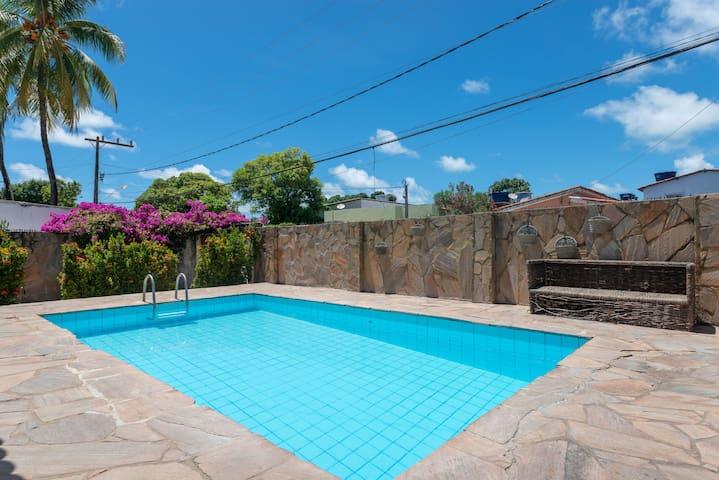 Casa com piscina em itamaraca