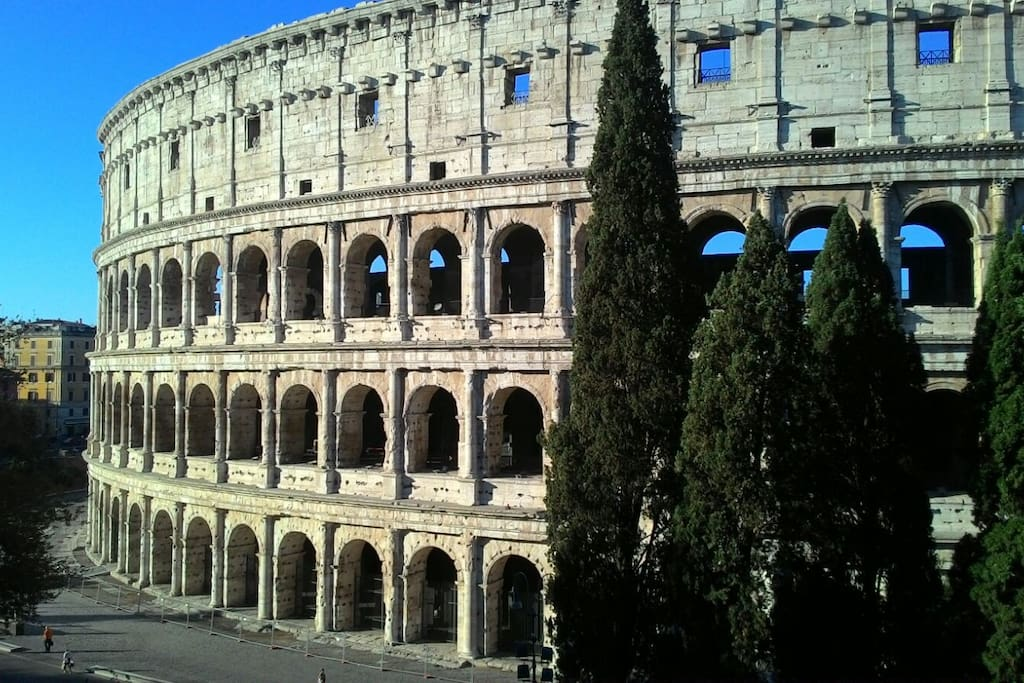 The Wiev from living room  - Home Holiday Colosseo