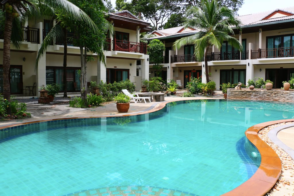 3br Holiday Villa With Swimming Pool Houses For Rent In Tambon Bo Put Chang Wat Surat Thani