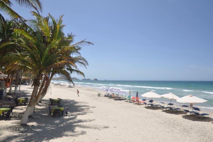Hotel frente al Mar - Playa el agua - Apartment