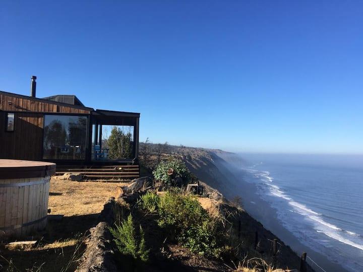 Vista impresionante, acogedor, campo y playa