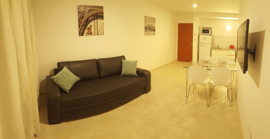 Downtown/ Exclusivo departamento moderno/Vista 2