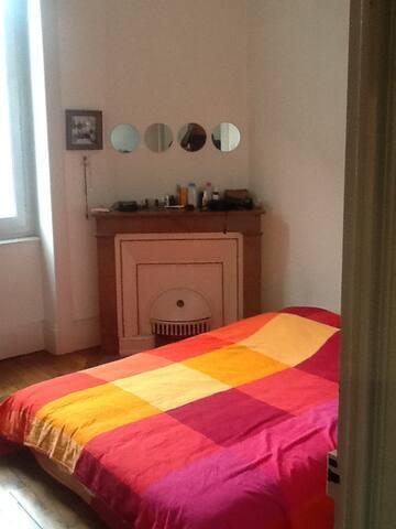 Chambre dans appartement en colocation - Lyon - Flat