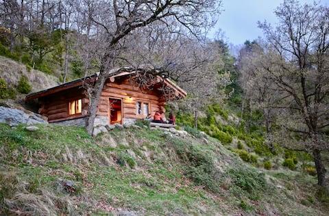 빌라로의 통나무 오두막