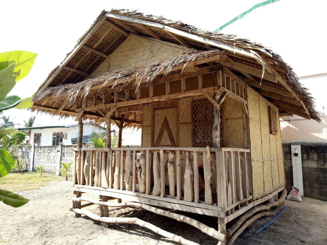 """Simplicity is the Ultimate Satisfaction "" Our native Filipino Nipa Hut Probinsya feels"