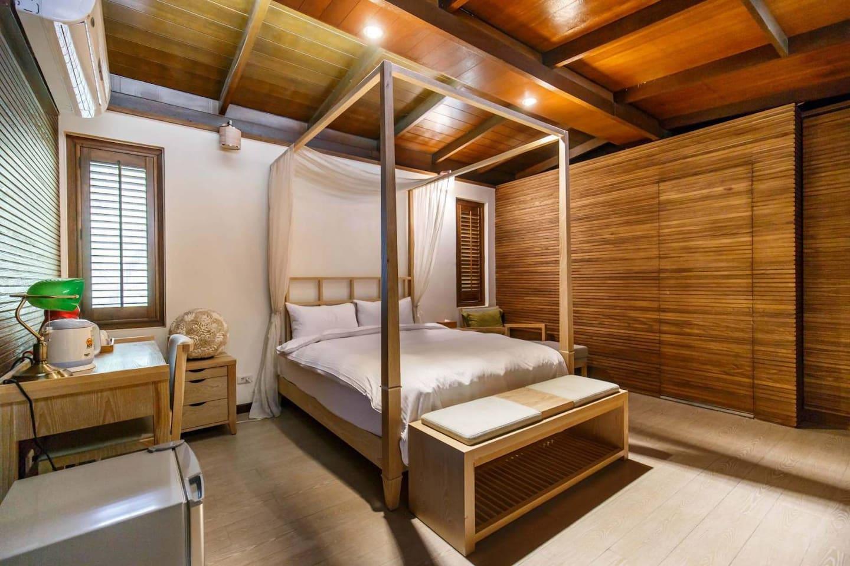 豪華雙人露天溫泉套房 Deluxe Double Suite Open-air hot spring